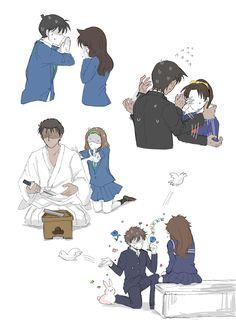 Detective Conan Ran, Detective Theme, Conan Comics, Detektif Conan, Magic Kaito, Voltron Galra, Inuyasha Fan Art, Kaito Kuroba, Detective