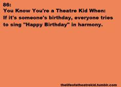 7 part harmonies to happy birthday is the best