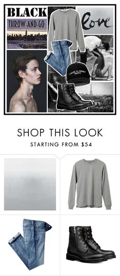 """I came to break hearts"" by sarabarlaup on Polyvore featuring L.L.Bean, 7 For All Mankind, Manolo Blahnik, men's fashion and menswear"