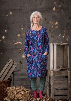 """""""Tulip"""" dress in modal – Flying tulips – GUDRUN SJÖDÉN – Webshop, mail order and boutiques 
