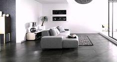 Schon Wohnzimmer Einrichten Grauer Boden