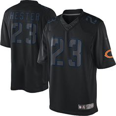 Pre-order the new 2012 NFL Men s Game Nike Chicago Bears  23 Devin Hester  Impact Black Jersey right now at official Bears Shop! We are the  1 source  for NFL ... c8c6ba903