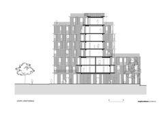 Rue Du Chateau Des Rentiers' Housing / Explorations Architecture