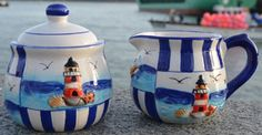 Nautical Tableware - seaside tableware items from Dorset Gifts in the UK - nautical and maritime gifts for the nautical home, bathroom, garden or boat.