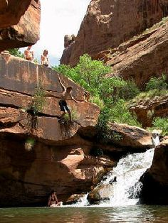 Best Swimming Hole in Moab, Mill Creek Canyon