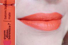 #batom #liquido #matte #qdb #quemdisseberenice #bere #liquid #lipstick #orange #laranja #laranjali