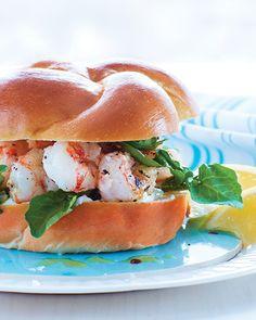 Rock Shrimp Sandwich Recipe | Sweet Paul Magazine #Shrimp #Seafood