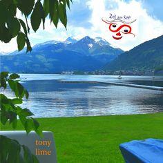 Zell am See Rasen Zell Am See, Mountains, Nature, Design, Kunst, Lawn, Naturaleza, Nature Illustration, Bergen