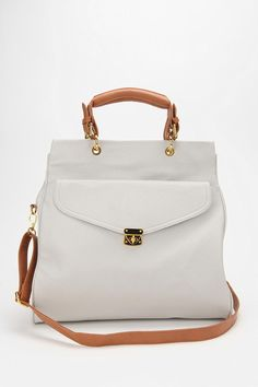 $59 (areyoukiddingme!) Urban Outfitters envelope tote.  Comes in sky blue, black, white and gray!  LOVE!