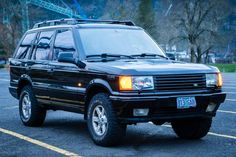 Rare Semi-OEM Supercharged Model: 1997 Range Rover SSE |  Bring a Trailer