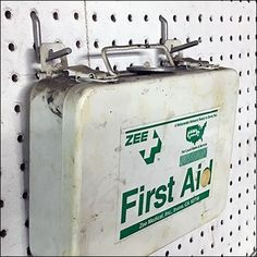 Keep your kit at the ready and easily accessed with this Single-Prong All-Wire Pin-Up Hook First Aid solution for Pegboard. Store Fixtures, First Aid, Hooks, Pin Up, Retail, Wire, First Aid Kid, Wall Hooks, Sleeve