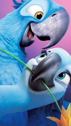 für Mobilgeräte Rio (Film) - - New Ideas Disney Kunst, Disney Art, Disney Movies, Disney Pixar, Dreamworks Movies, Rio Film, Rio Movie, Disney Phone Wallpaper, Cartoon Wallpaper