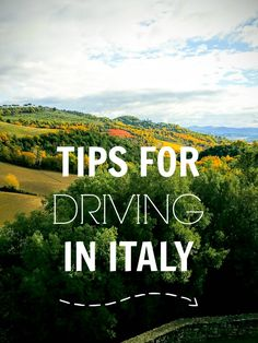 Tips for Driving in Italy from The Wandering Dragons. #Umbria #Italy #DrivinginItaly