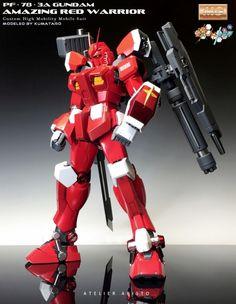 KUMATARO's Latest Improved Work: MG 1/100 Gundam Amazing Red Warrior. Full REVIEW, Info http://www.gunjap.net/site/?p=290609