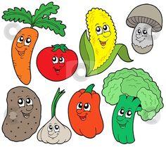 50 best cartoon vegetables images backyard garden ideas potager rh pinterest com