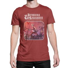 Borderlands Tiny Tina's Bunkers Tee - Glitch Gear | Glitchgear.com