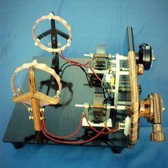 Charles Spencer's homemade crystal radio