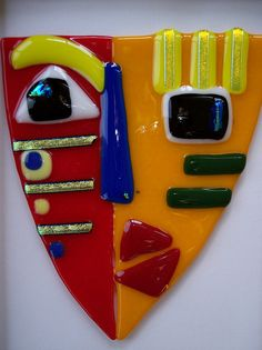 Fused Glass Mask | Flickr - Photo Sharing!