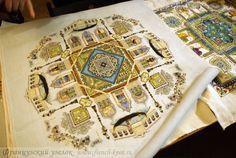 "Дизайны Мартины Розенберг-Шетелайн (Chatelaine): ""Венецианский сад"""