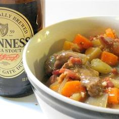 Irish Lamb Stew : adapting this for the crockpot and using 1/2 cup irish whiskey in place of the white wine.