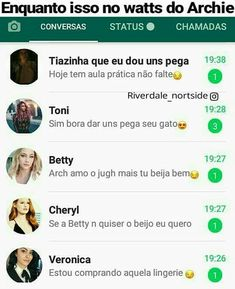 Que isso gente Memes Status, Memes Br, Funny Memes, Girls Group Names, Girls Phone Numbers, The Best Series Ever, Riverdale Memes, Dylan Sprouse, Humor