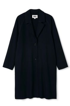 Weekday Vivi Coat in Blue Reddish Dark