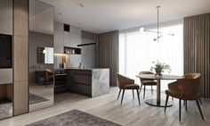 "TOL'KO / ""BERLIN"" Small apartment in Germany on Behance"