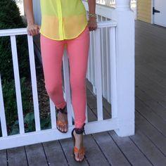 Skinny Bellini Jean..... Love this color!