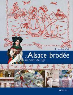 L'Alsace brodee au point de tige