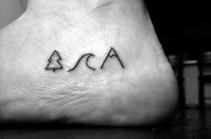 Favourite Things | 16 Minimalist Tattoos That Celebrate Nature And The Outdoors