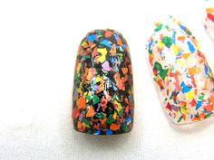 Fun House Rainbow Nail Polish Rainbow Shred by DynamicPolish
