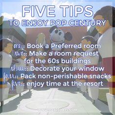 Disney Day: Tips for staying at Disney's Pop Century Resort