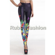 Sexy Stretch bedruckte Leggings mit Tetris Motiv schwarz #Leggings #Motiv #Legings #Hose #Leggins #Motivlegging #Legings #Hose #Legins 16.90 EUR inkl. 19% MwSt. zzgl. Versand