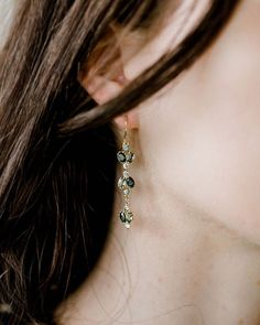 Also new the longer tiered Juniper earrings are now available at melaniecasey.com