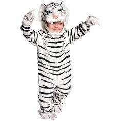 Tiger White Plush Toddler Costume  6  12 Months -- ** AMAZON BEST BUY **