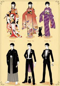 よいこのきせかえ [9] Japanese Outfits, Japanese Fashion, Anime Poses Reference, Art Reference, Traditional Japanese Kimono, Drawing Anime Clothes, Kimono Design, Anime Dress, Fashion Design Drawings