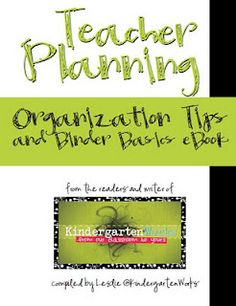 Helpful binder organization tips for new teachers or ones who have never kept binders