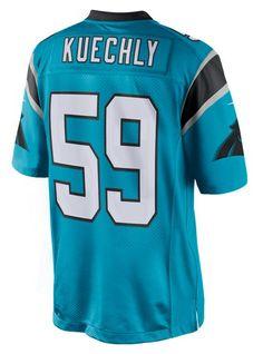 Men's Luke Kuechly Carolina Panthers Blue Alternate Nike Limited Jersey