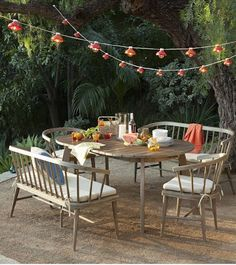 eco-friendly driftwood Dexter picnic table http://rstyle.me/n/ivx6dr9te