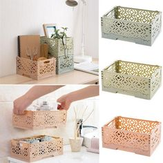 Fold Storage Basket Plastic Storage Container Box Home Use Storage Basket Food Clothes Storage Boxes|Storage Boxes & Bins| - AliExpress Crate Storage, Table Storage, Storage Rack, Storage Drawers, Storage Baskets, Clothes Storage Boxes, Clothing Storage, Plastic Container Storage, Storage Containers