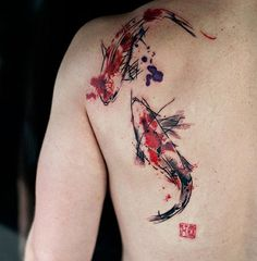 250+ Most Appealing Koi Fish Tattoo Designs And Meanings nice