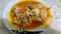 Pollo a la española