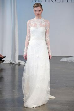 Coleção #vestidos de #noiva Primavera Verão 2014 de #Marchesa