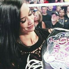She will forever be my favourite female superstar #AJLee