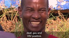 Deaf, gay and HIV positive activist battles against stigma