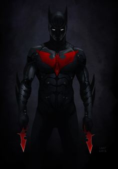 """Batman Beyond Fanart"" by Yvan ""Wyv"" Quinet"