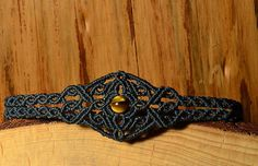 VISIT US ON WWW.LAPISZULIA.COM Beautiful handmade macrame bracelet with high quality glass and brass beads. SIZES Every colou have different size: DARK BLUE: 6 length; width: 1,2 Inch, LIGHT BLUE: 6,3: width: 1,2 Inch, BLACK: 6,3 Inch; width: 1,2cm By dint of a sliding knot the bracelet