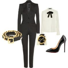 CLASSIC My Style, Classic, Polyvore, Image, Fashion, Derby, Moda, Fashion Styles, Classic Books