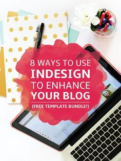 The complete guide to using InDesign for your blog (images, content upgrades, workshops & more). Get 10 Free InDesign Templates for Bloggers! Adobe Indesign, Indesign Templates, Media Kit Template, Collage Template, Graphic Design Tutorials, Web Design, Design Basics, Vector Design, Formation Indesign