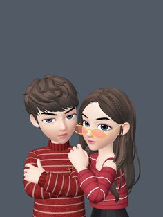 Zepeto Cute Love Pictures, Cute Cartoon Pictures, Bff Pictures, Happy Cartoon, Cute Love Cartoons, Girl Cartoon, Love Cartoon Couple, Cute Couple Art, Cute Couple Wallpaper